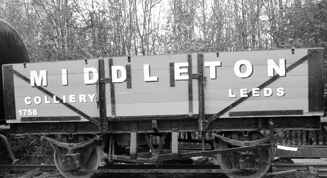 Colliery train truck middleton